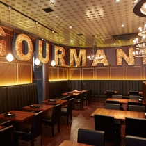 GOURMAND GRILL & CAFE GINZA 店内