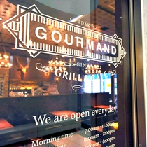 GOURMAND GRILL & CAFE GINZA ロビーエントランス(1F)