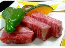 とろける美味さの福井ブランド若狭牛ステーキ
