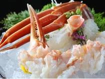 生きた蟹だからこその蟹刺し!ゆっくり味わいたい新鮮な甘み