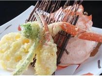 【蟹】揚げたてサクサクッ♪蟹天ぷら