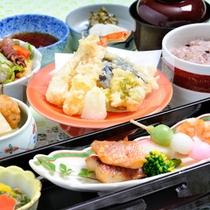 """*日本料理""""四季""""/季節の旬味が彩る和会席料理に舌鼓。"""