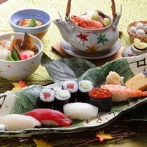 """*鮨処""""扇""""/厳選された新鮮素材の江戸前鮨。"""