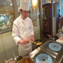 *朝食ブッフェ/オークラシェフ自慢!朝からホテルで楽しむ、和洋食が多彩に揃ったバイキング。