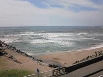 海側客室からの眺望
