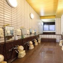 <女性大浴場>
