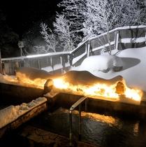 ・雪見の露天風呂・