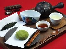 日本茶カフェメニュー