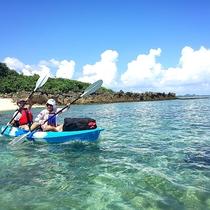 *海やマングローブジャングルを冒険するカヤックツアー!