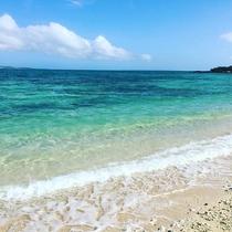 *ビーチ/お部屋から水着のまま歩いて行けるビーチ♪エメラルドグリーンの海でめいっぱい遊ぼう!