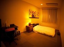 【ビジネスシングル】暖かい雰囲気に心休まる客室