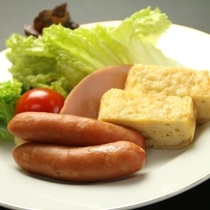 健康的な和朝食をご用意致します。