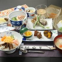 2000円ランチA 全体のイメージ。