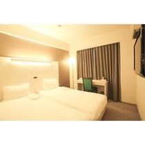 エコノミーツインルーム(16平米ベッド2台)