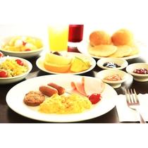 朝食(バイキング・メニューは異なる場合がございます。)