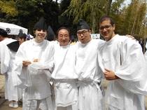 カオサン熱海 伊豆山神社 お神輿かつぎ体験