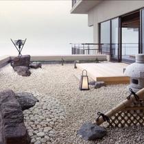 ■【客室】角部屋 石庭