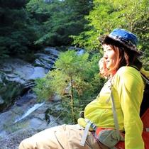 屋久島の自然のなかでの一時の休憩♪自然からのパワーをもらえます。