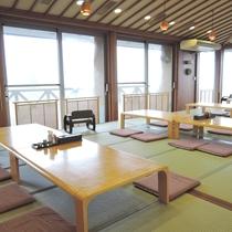 *【レストラン彩】夕食・朝食の食事場所です