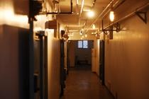 ゲストルームフロア 廊下の様子