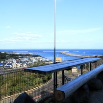 天気の良い日は外に出て屋久島の海を見ながらのんびり。