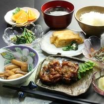 【朝食の一例】たくさん食べて魅惑の屋久島を体感してください!