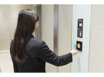 【3F客室エレベーターホール セキュリティ】