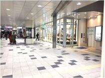 【京急川崎駅 中央改札】