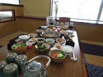 地元食材を使った正しい日本の朝ごはん