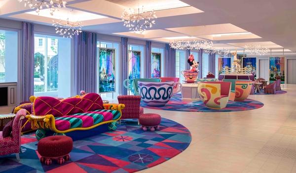 東京ディズニーセレブレーションホテルロビー