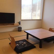 *客室一例/優しい色合いの木の温もりに癒される和室。全室無料Wi-Fiも完備で快適♪
