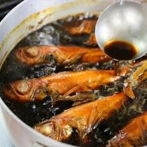 秘伝のタレが美味しさの秘訣!金目鯛の煮つけ