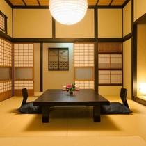 お部屋一例。和のぬくもりあふれるお部屋(写真は「こうづ」)
