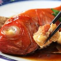 金目鯛を中心としたお料理