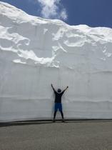 雪の回廊 4月下旬〜6月頃
