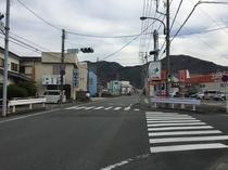 西伊豆のグルメ街道 R136