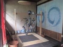 巴の部屋自転車スタンド