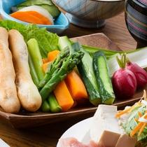 【夕食一例】北海道の旬をいただく贅沢を