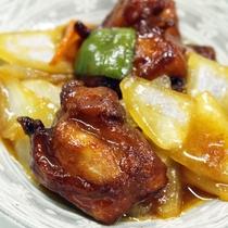 *【夕食一例】酢豚
