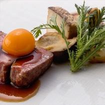 冬のながのテロワール 料理一例 肉