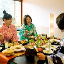 ● 夕食・部屋食のイメージ