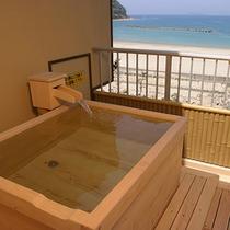 【眺望☆海】露天風呂付客室【おみなえし】3階(一例)