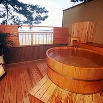 【眺望☆海】露天風呂付客室【なでしこ】3階(一例)