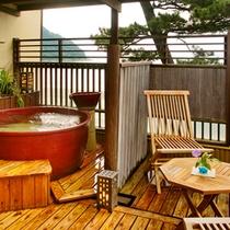 ●ICHIRIN★DX露天風呂付客室【つばき・4階】露天
