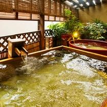 ● 夢見の湯(ひのき風呂・陶器風呂)