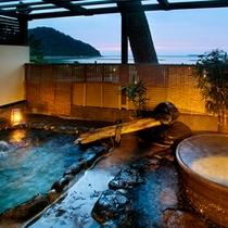 ● 露天岩風呂『海風』