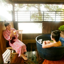 ● DX露天風呂付客室【ふくじゅそう・4階】露天
