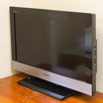 お部屋/エコノミー和室|液晶テレビを設置