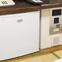 お部屋/エコノミー和室|空の冷蔵庫をご用意