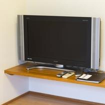 お部屋/スタンダード和室|液晶テレビを設置